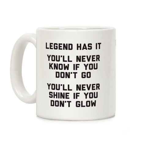 Legend Has It - All Star Parody Coffee Mug