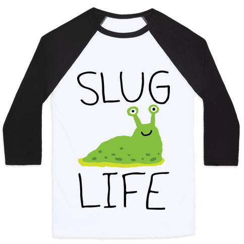 Slug Life Baseball Tee