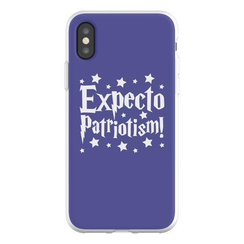 Expecto Patriotism Parody Phone Flexi-Case