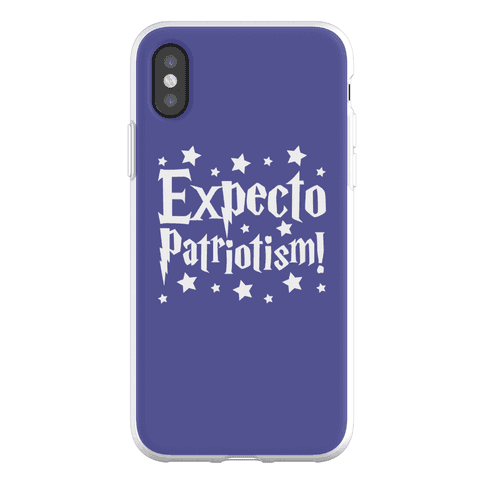 Expecto Patriotism Parody Phone Flexi-Case
