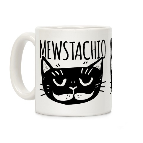 Mewstachio Coffee Mug