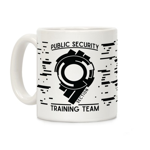 Section 9 Public Security Training Team Coffee Mug