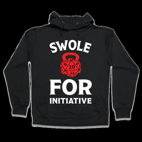 Swole For Initiative D20 Hooded Sweatshirt