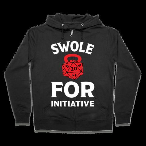 Swole For Initiative D20 Zip Hoodie
