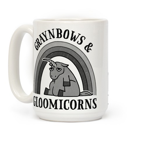 Graynbows & Gloomicorns Coffee Mug
