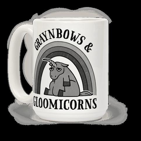 Graynbows & Gloomicorns Coffee Mug