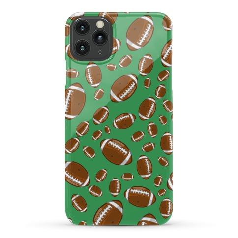Footballs Pattern Phone Case