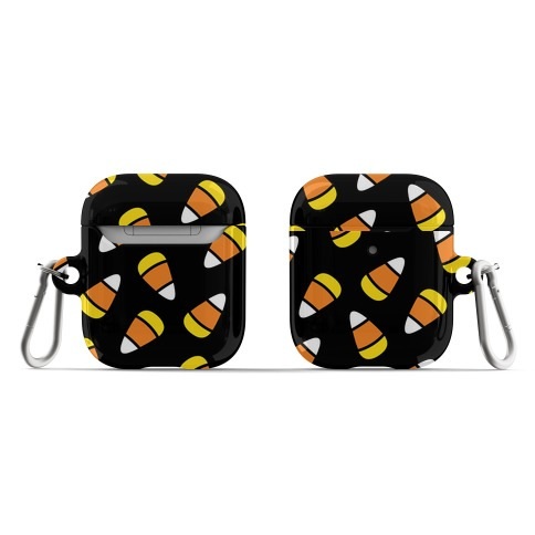 Candy Corn Pattern AirPod Case