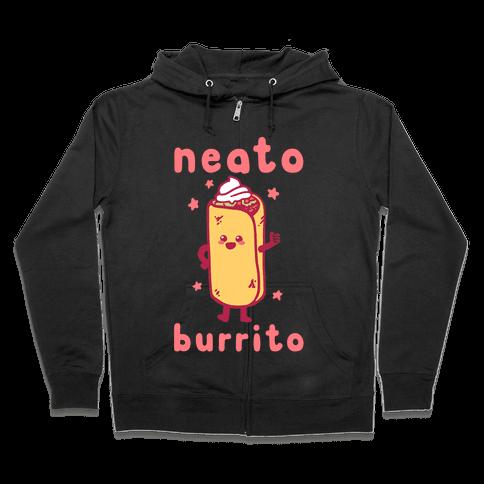 Neato Burrito Zip Hoodie