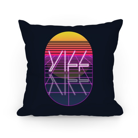 Synthwave Yiff Pillow