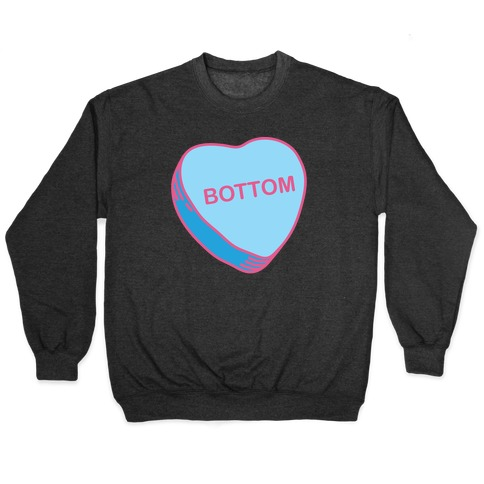 Bottom Candy Heart Pullover
