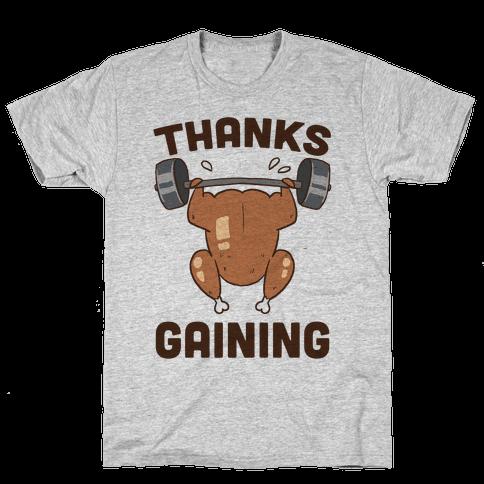 Thanksgaining Mens T-Shirt