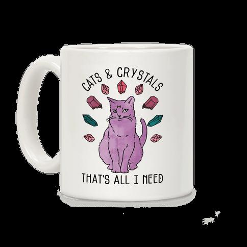 Cats and Crystals Coffee Mug