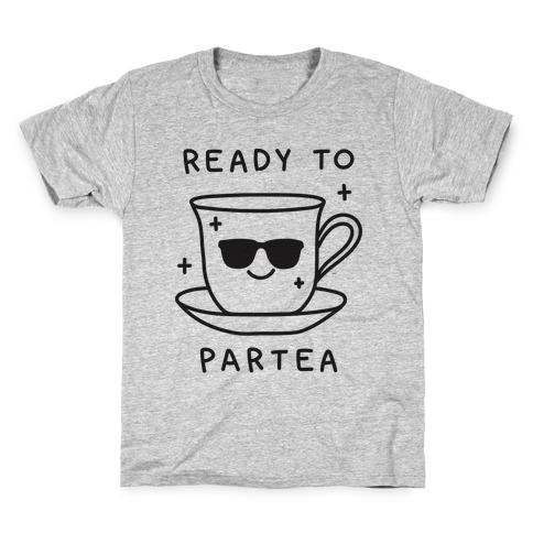 Ready To Partea Kids T-Shirt