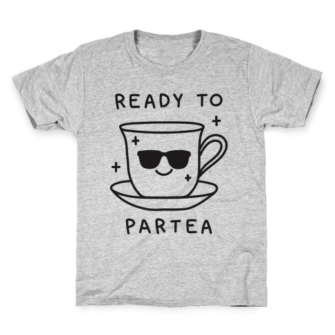 Ready To Partea Kids T-Shirt