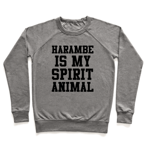 Harambe is My Spirit Animal Pullover