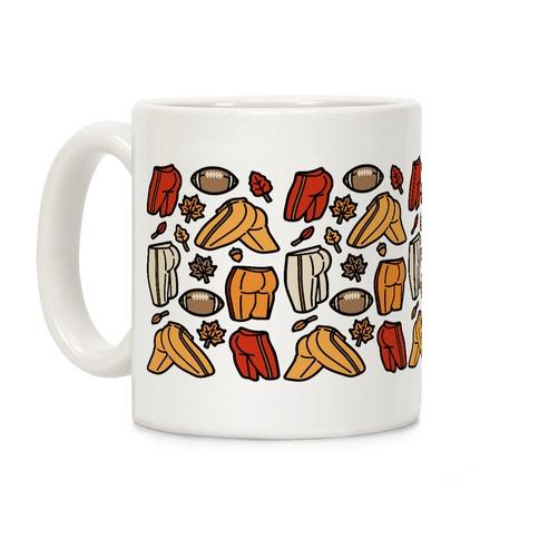 Fall Football Butts  Coffee Mug