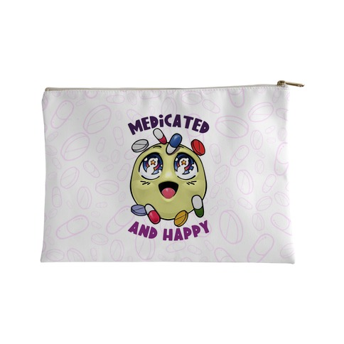 Medicated And Happy Accessory Bag
