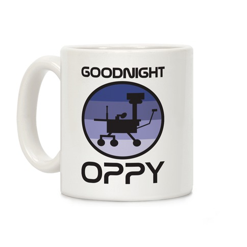 Goodnight Oppy Coffee Mug