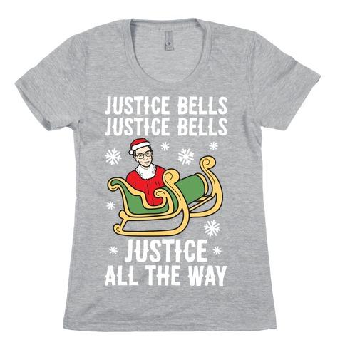 Justice Bells RBG Womens T-Shirt