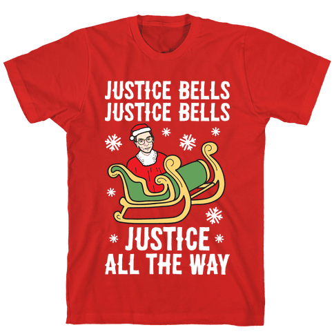 Justice Bells RBG Mens T-Shirt