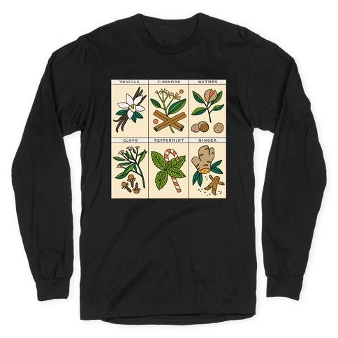 Holiday Spice Botanicals Long Sleeve T-Shirt