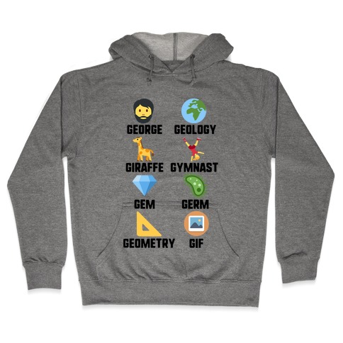 Gif And Friends Hooded Sweatshirt