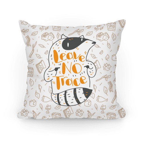 Leave No Trace Pillow