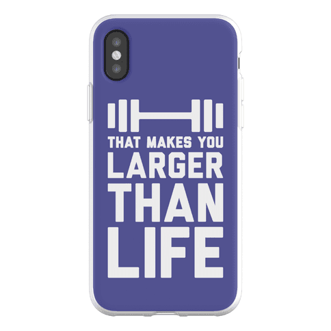 Larger Than Life Phone Flexi-Case