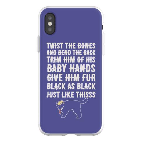 Hocus Pocus Spell Trump Parody Phone Flexi-Case