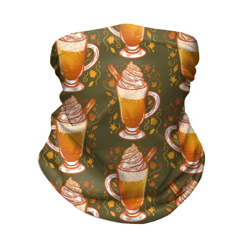 Pumpkin Spice is Paradise Neck Gaiter