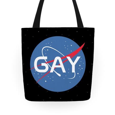 Gay Nasa Parody Tote