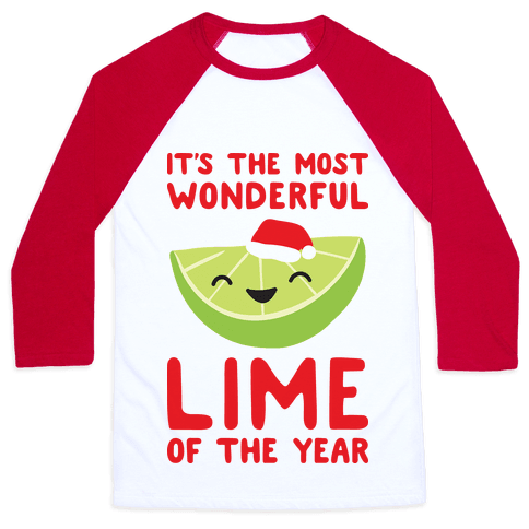 It's The Most Wonderful Lime of the Year Baseball Tee