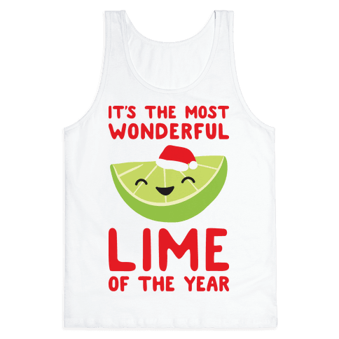 It's The Most Wonderful Lime of the Year Tank Top