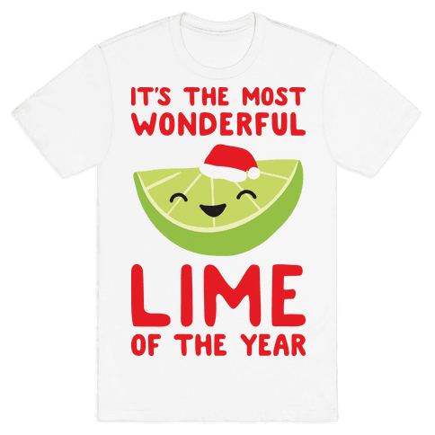 It's The Most Wonderful Lime of the Year Mens T-Shirt