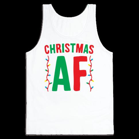 Christmas AF Tank Top