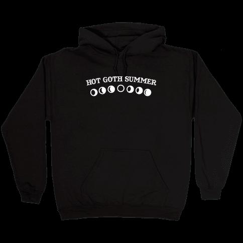 Hot Goth Summer Hooded Sweatshirt