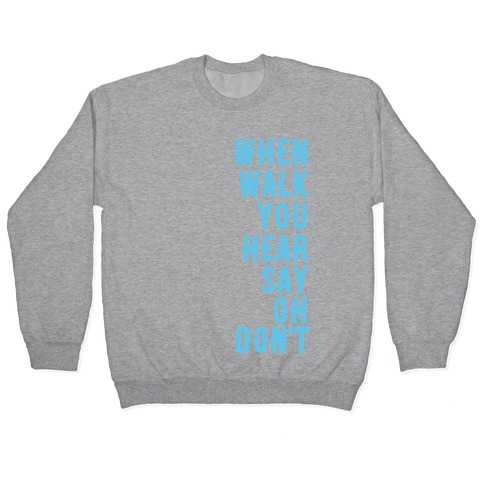 Simple and Clean Lyrics (1 of 2 pair) Pullover