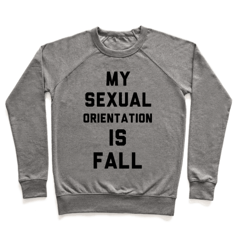 My Sexual Orientation is Fall Pullover