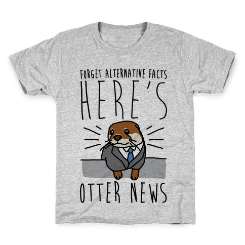 Otter News Kids T-Shirt
