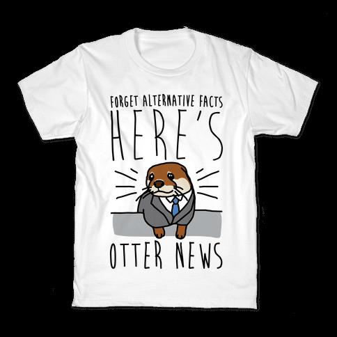Otter News Kids T-Shirt