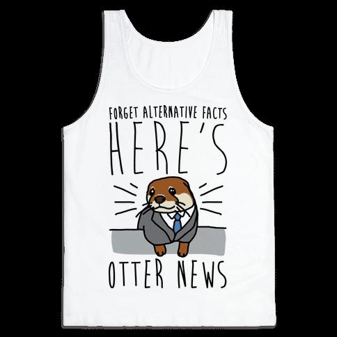 Otter News Tank Top