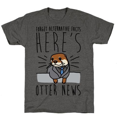 Otter News T-Shirt