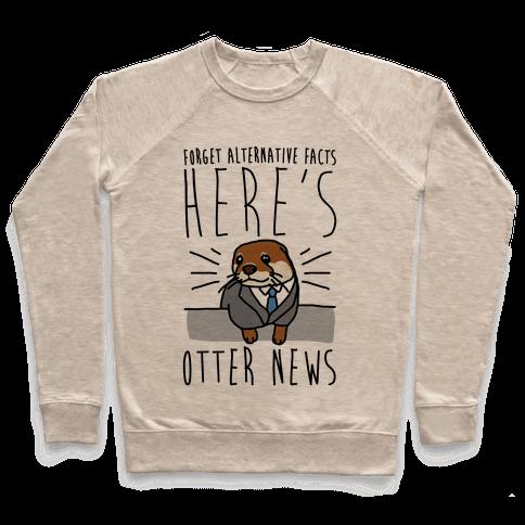 Otter News Pullover