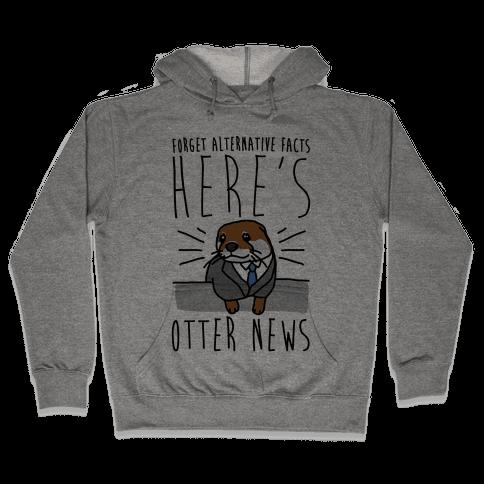 Otter News Hooded Sweatshirt