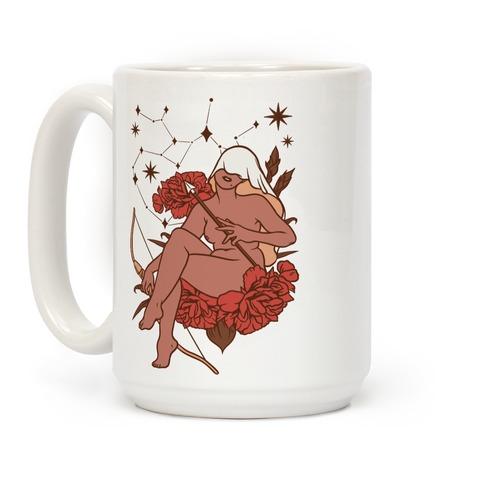 Zodiac Pinup Sagittarius Coffee Mug
