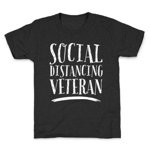 Social Distancing Veteran Kids T-Shirt