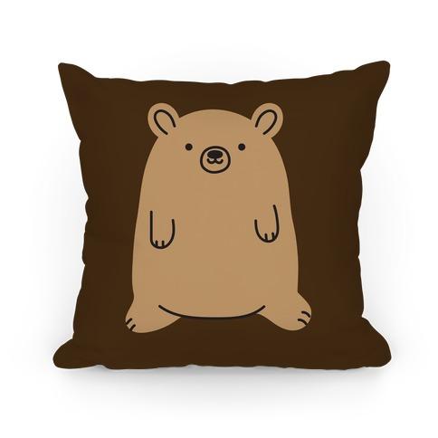 Fat Bear Pillow