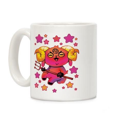 Kawaii Demon Goat Coffee Mug