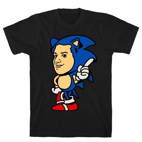 Sonic Ben Schwartz Parody T-Shirt